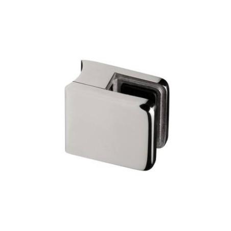 Pinza vidrio CC-721 de acero inoxidable para poste cuadrado de barandillas de Comenza