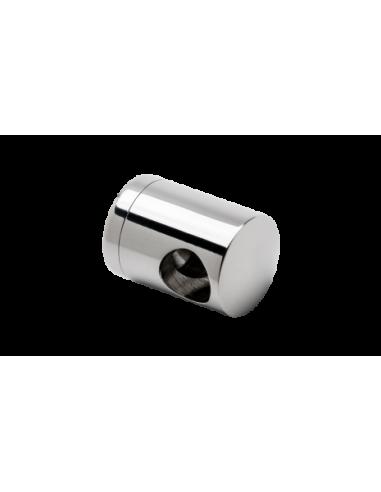 Soporte transversal mod ST-321 de acero inoxidable AISI 316 para tubo cuadrado para varilla