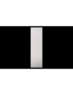 Tapa lateral en aluminio tramos en escalera para perfil de barandilla de cristal GlassFit SV-1402