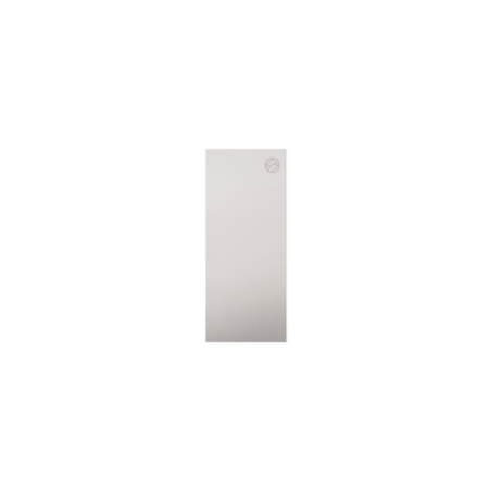 Tapa lateral en aluminio tramos rectos para perfil de barandilla de cristal GlassFit SV-1404