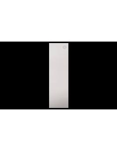 Tapa lateral en aluminio tramos en escalera para perfil de barandilla de cristal GlassFit SV-1404