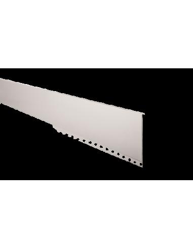 Tapeta frontal en acero inox para sistema de barandilla de vidrio GlassFit SV-1301