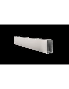 Perfil de suelo montaje superior para sistema de barandilla de vidrio GlassFit SV-1401