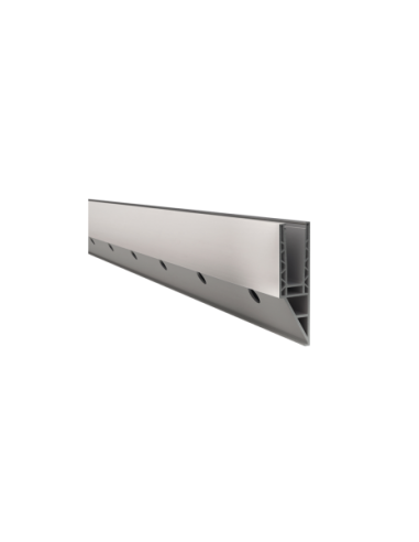 Perfil de suelo montaje lateral para sistema de barandilla de cristal GlassFit SV-1404