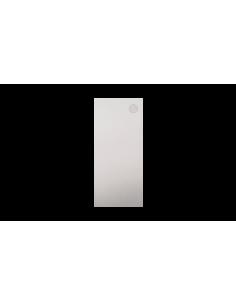 Tapa lateral en aluminio tramos rectos para perfil de...