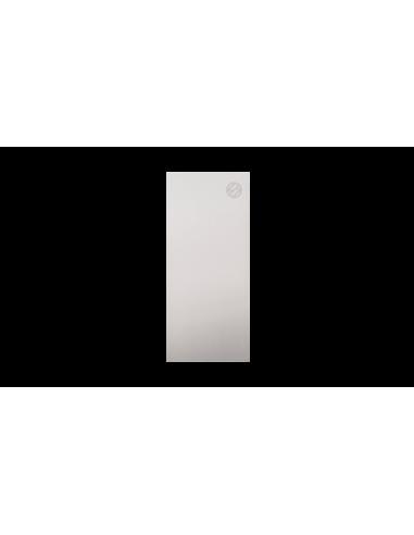 Tapa lateral en aluminio tramos rectos para perfil de barandilla de cristal GlassFit SV-1401