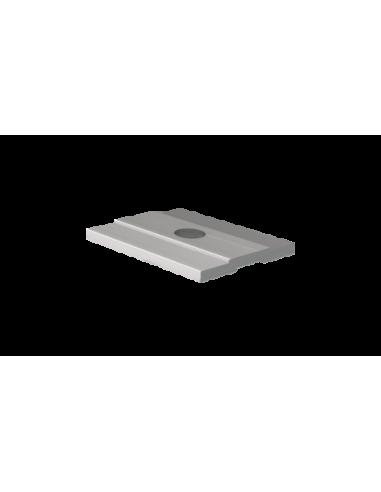 Perfil de drenaje inferior para sistema de barandilla de cristal GlassFit SV-1401