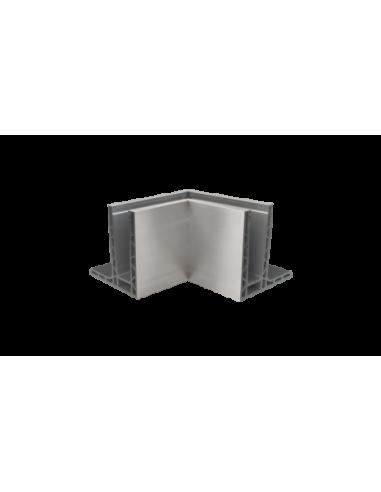 Esquina a 90ª interior para sistema de barandilla de vidrio GlassFit SV-1403