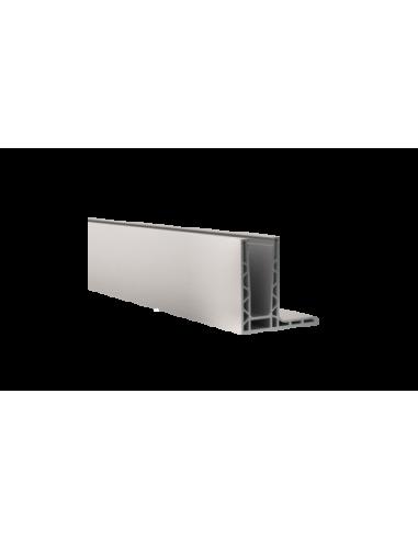 Perfil de suelo montaje superior para sistema de barandilla de vidrio GlassFit SV-1403