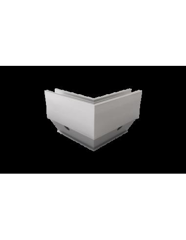 Esquina a 90ª exterior para sistema de barandilla de cristal GlassFit SV-1404