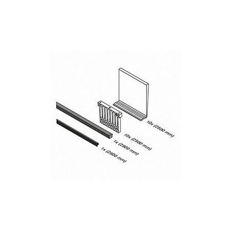 Medidas Set de gomas Easy Glass Slim Mod. 6904