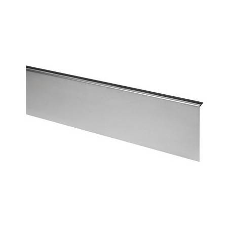 Revestimiento, Easy Glass Slim, montaje lateral, acero inox.