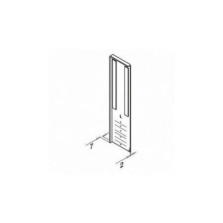 Plano Tapón de acabado para escalera, Easy Glass Slim, montaje lateral, izquierda