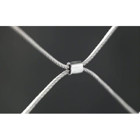 Malla de acero inoxidable para barandillas AISI 316 Network de Barmet