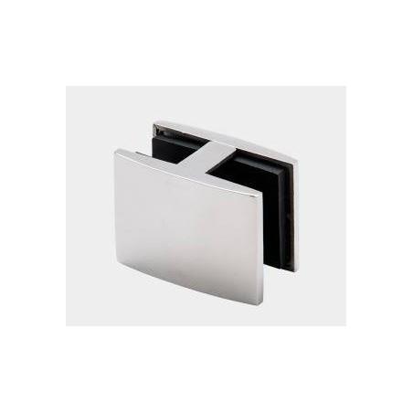 Pinza para barandillas de vidrio en acero inoxidable AISI-316 modelo CC-736