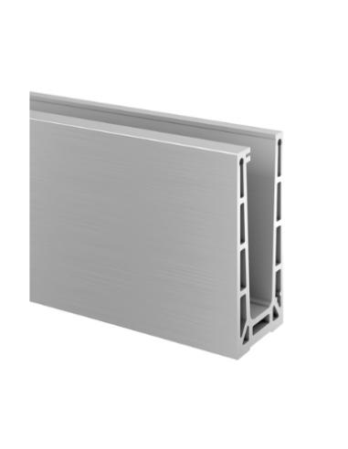 Perfil para suelo montaje superior Mod 6906 Aluminio