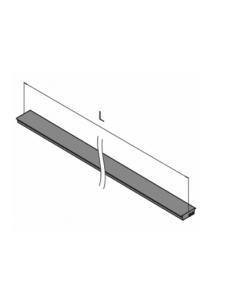 Protector de goma intermedio 6901 Easy Glass Pro 2500mm