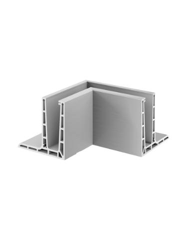 Mod6313 Esquinero 90º Interior montaje superior Aluminio Easy Glass PRO F