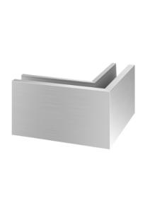 Esquinero 90º exterior montaje superior Mod 6314 Aluminio