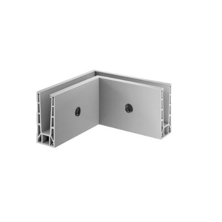 Esquinero 90º 6315 montaje lateral aluminio