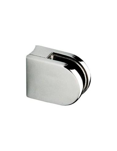 Pinza para vidrio cc-701 de acero inoxidable para poste redondo