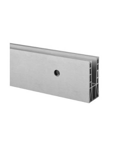 Perfil para suelo 6935 montaje lateral Easy Glass Max 2500mm