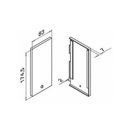 Plano Terminal Derecho para Easy Glass Max 6735