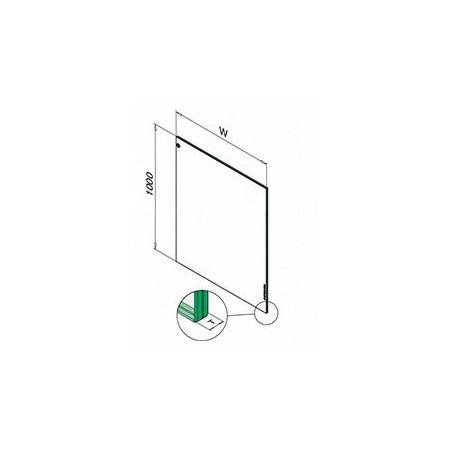medidas para vidrio laminado a partir de vidrio templado