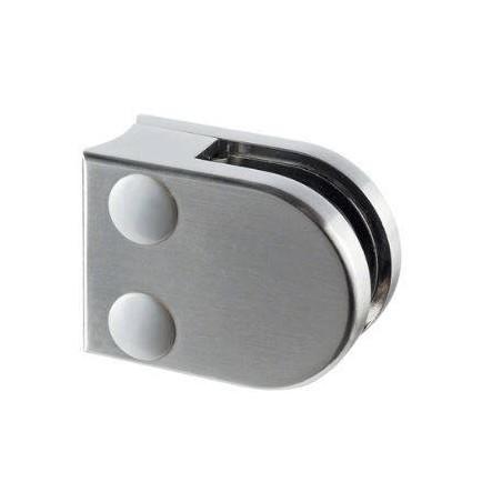 Pinza para vidrio mod 20 zamac para tubo redondo Ø42,4mm