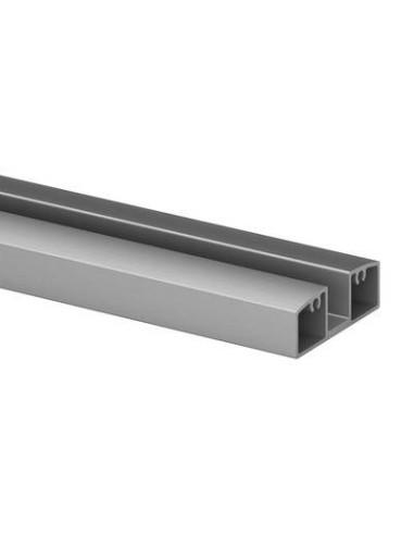 Perfil Inferior de aluminio 5000mm para barandilla de vidrio 5952