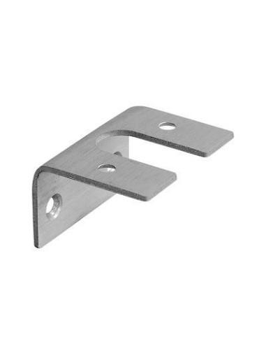 Adaptador para perfil de aluminio 0770 barandilla de vidrio