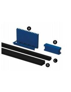 "Kit gomas y cuñas Modelo PL-150 para perfil en ""U"" GlassFit Flow SV-1501 Top"