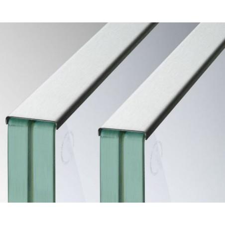 Protector de bordes en acero inox. AISI316 Mod.6945-6940 -Qrailing