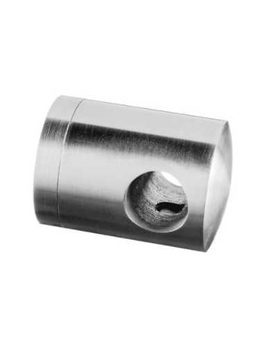 Soporte para travesaño Mod 0830 varilla Ø12mm para tubo plano (atraviesa varilla)