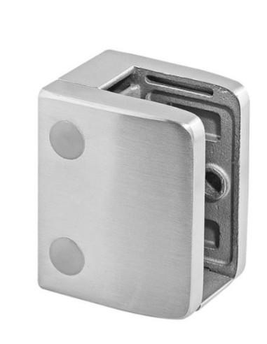 Pinza cuadrada para vidrio Mod 2300 en acero inox. AISI316