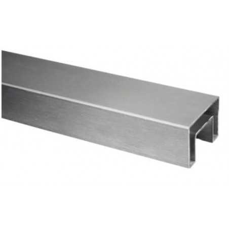 "Pasamanos en ""U"" rectangular Mod 6924 acero inox. 40X60mm"