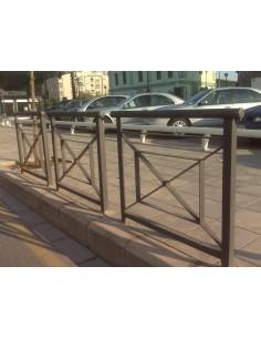 Mobiliario urbano Defensa Praga