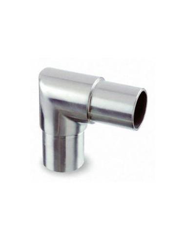 Racor de unión a 90° de tubo 301