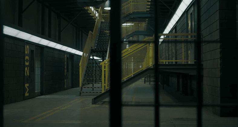barandillas y escaleras de las series de Netflix