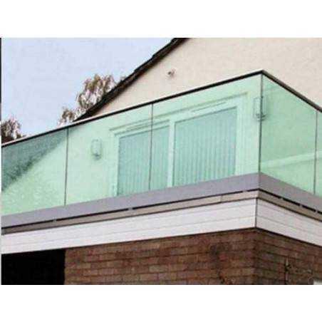 Barandilla vidrio Glass U
