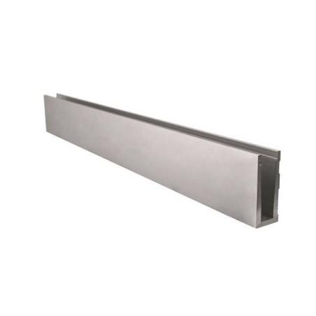 Accesorios de Barandilla al aire Glassfit SV-1303 Perfil embutido