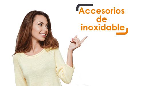 Accesorios de inoxidable - Barmet.es